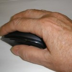 My Hand on Logitech Mouse