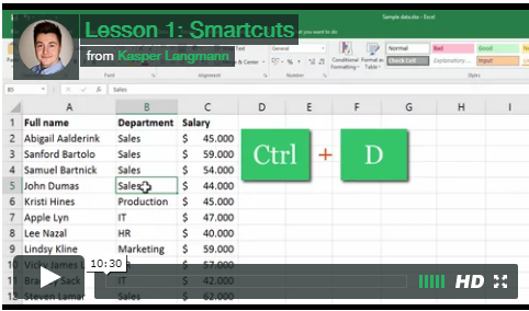 SpreadsheetO Video