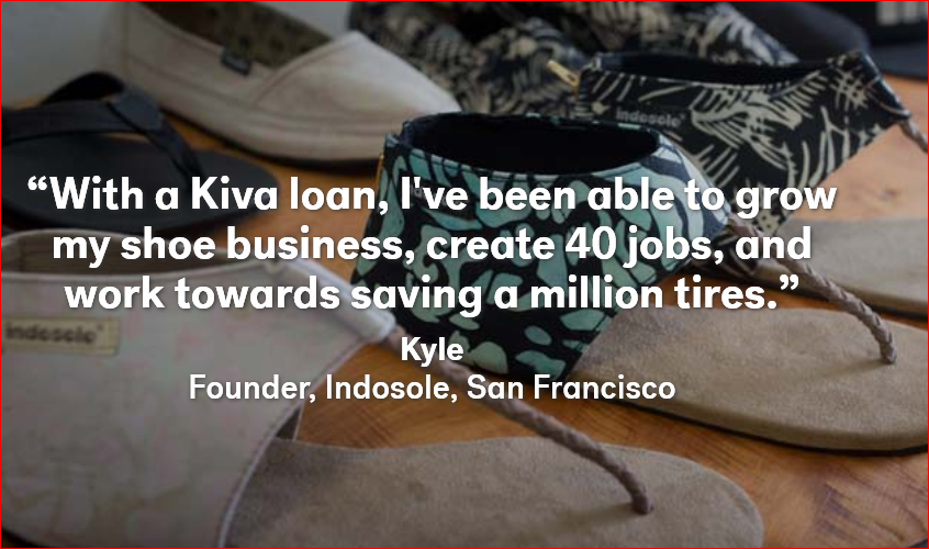 Kiva Loan for a Shoe Business